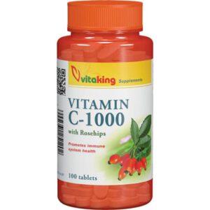 VitaKing C-Vitamin 1000mg - 100db tabletta