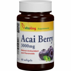 VitaKing Acai Berry - 60db kapszula
