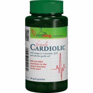 VitaKing Cardiolic Formula - 60db gélkapszula