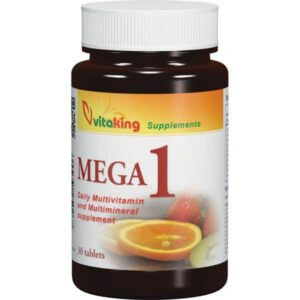 VitaKing Mega-1multivitamin - 30db tabletta