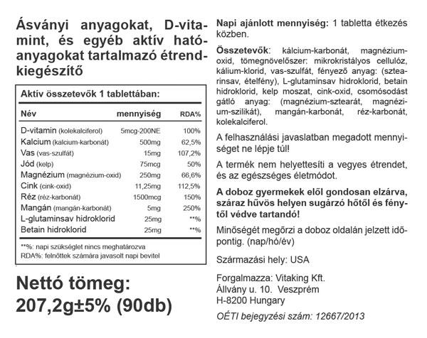 Vitaking-Multi-Mega-Mineral