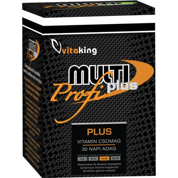 Vitaking Multi Plus Profi – 30db vitamincsomag