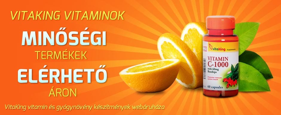 VitakingShop - Vitaking vitaminok webáruháza