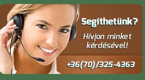 Ügyfélszolgálat - Hívjon minket kérdésével: (+36) 70/325-4363