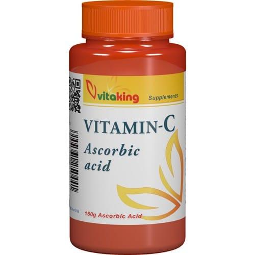 VitaKing Aszkorbinsav + C-vitamin por - 150g