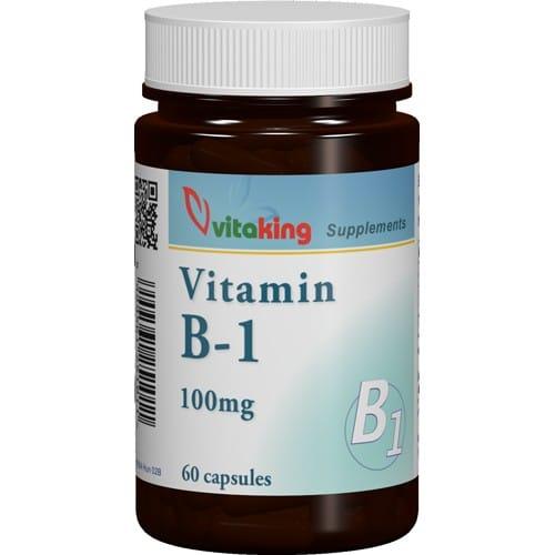 VitaKing B1-vitamin 100mg - 60db kapszula