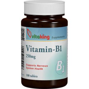 VitaKing B1-vitamin 250mg - 100db tabletta