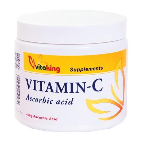 VitaKing Aszkorbinsav + C-vitamin italpor - 400g