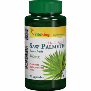 VitaKing Fűrészpálma - Saw Palmetto 540mg - 90db tabletta