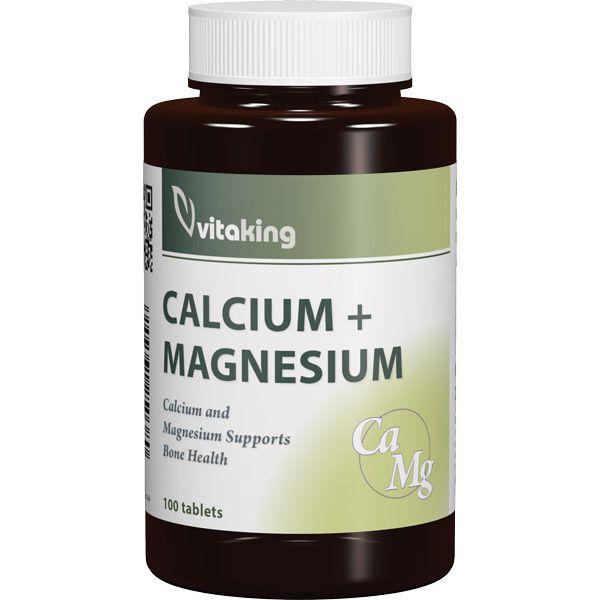 VitaKing Calcium + Magnézium - 100db tabletta