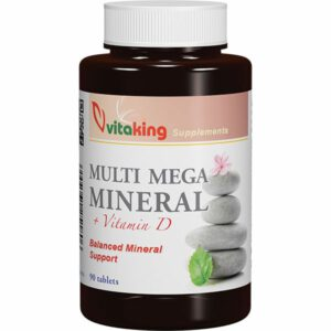 VitaKing Mega Multi Mineral - 90db tabletta