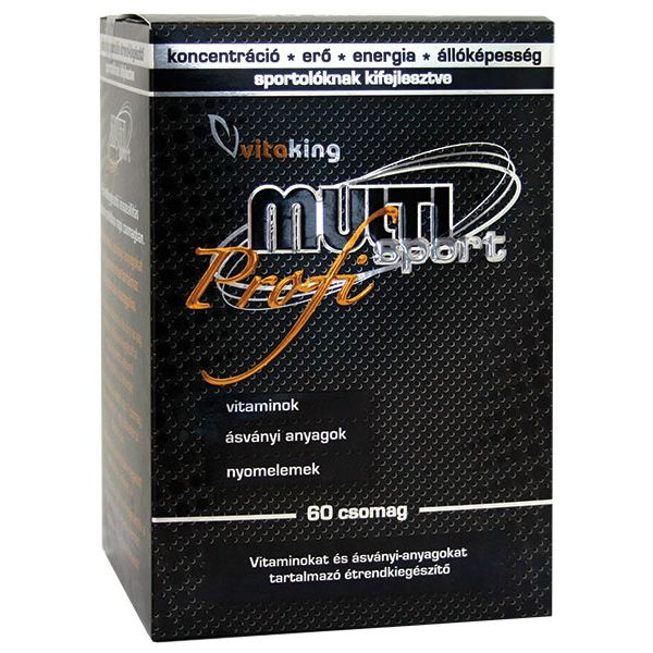 VitaKing Multi Sport Profi multivitamin - 60 csomag