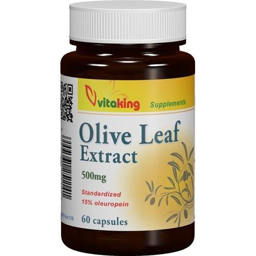 VitaKing olajfalevél - olívalevél kivonat - 60db kapszula