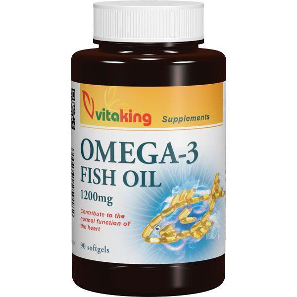 VitaKing Omega-3 1200mg halolaj – 90db kapszula