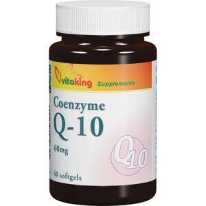 VitaKing Q10 koenzim 60mg - 60db kapszula