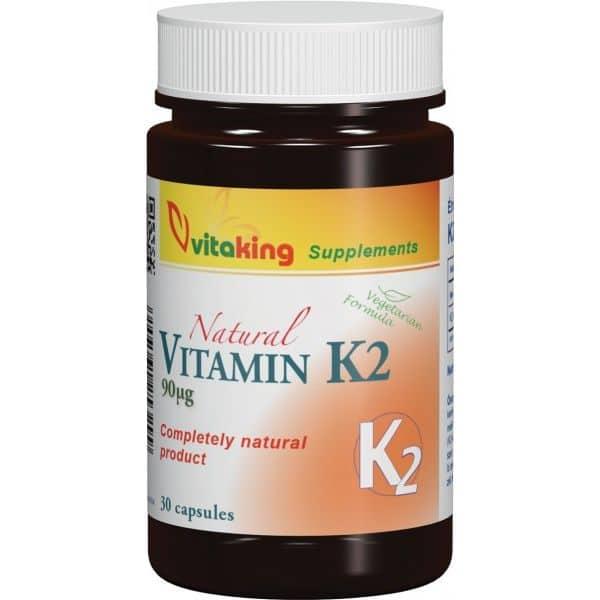 Vitaking K2-vitamin 90µg - 30db kapszula
