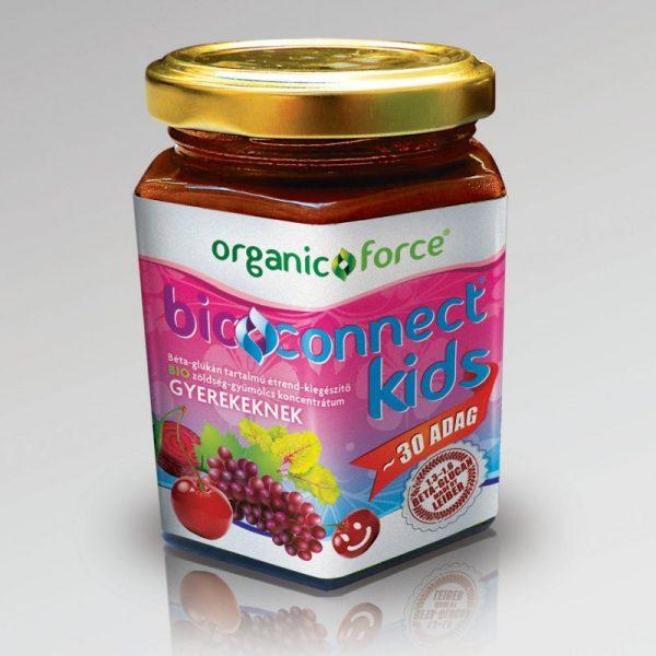 Bioconnect Kids béta-glükánt tartalmazó koncentrátum gyerekeknek - 210g