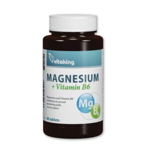 Vitaking Megnesium Citrate 150mg + B6-vitamin tabletta - 90db