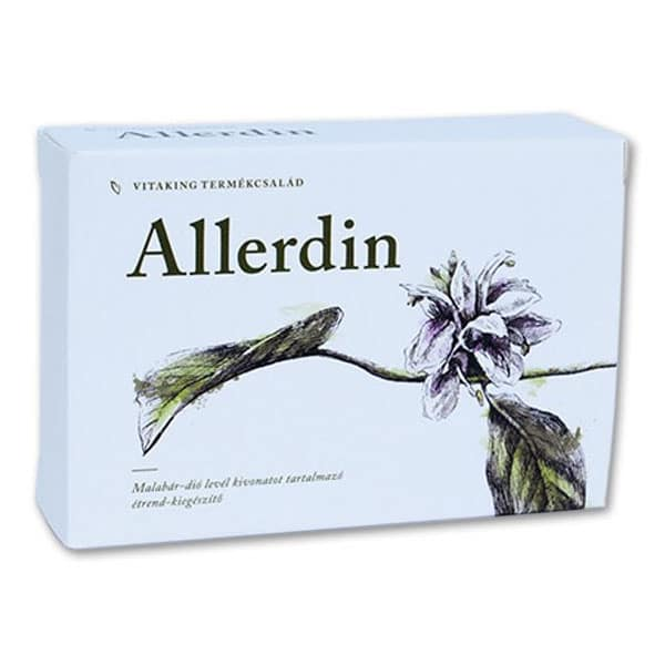 Vitaking Allerdin tabletta - 45db