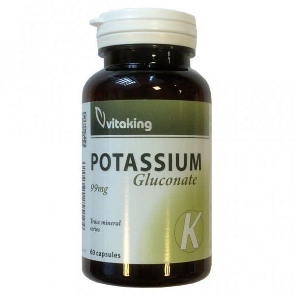 Vitaking Kálium Potassium 99mg kapszula - 60db